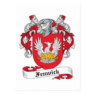 Fenwick Family Crest Postcard