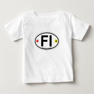 Fenwick Island DE - Oval Design. Baby T-Shirt