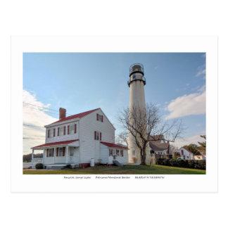 Fenwick Island Lighthouse. Postcard