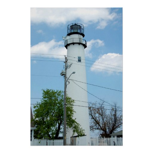Fenwick Island Lighthouse Tower Print