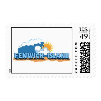 Fenwick Island. Postage Stamp