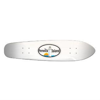 Fenwick Island. Skateboard