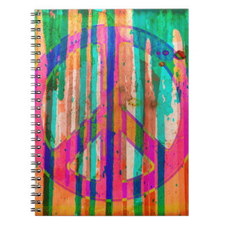 Feo es el cuaderno hermoso del signo de la paz