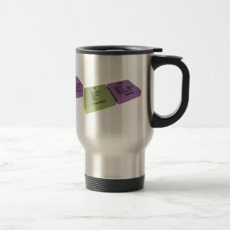 Fer as F Fluorine and Er Erbium 15 Oz Stainless Steel Travel Mug