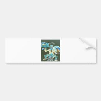 feral album cover bumper sticker