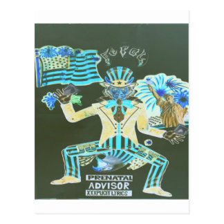 feral album cover postcard