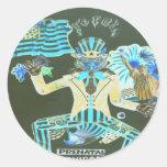 feral album cover stickers