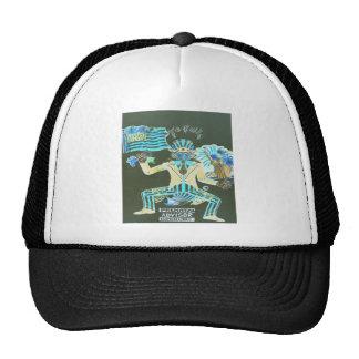 feral album cover trucker hat