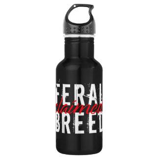 Feral Breed Claimed Water Bottle