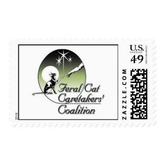 Feral Cat Caretakers LOGO STAMP