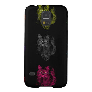 feral cat pop art cases for galaxy s5