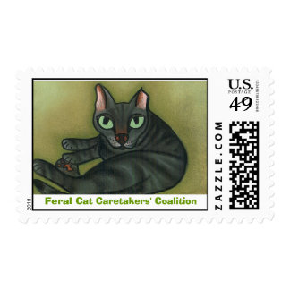 Feral Cat Postage