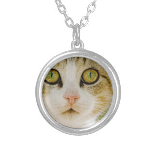 Feral Cat with Eyeliner Pendants