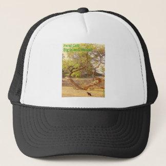 Feral Cats Big Island Hawaii Trucker Hat