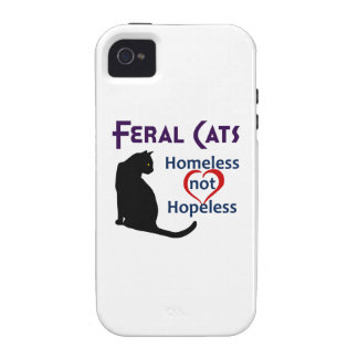 FERAL CATS iPhone 4/4S CASES