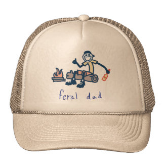 Feral dad hat