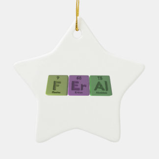 Feral-F-Er-Al-Fluorine-Erbium-Aluminium.png Ceramic Ornament