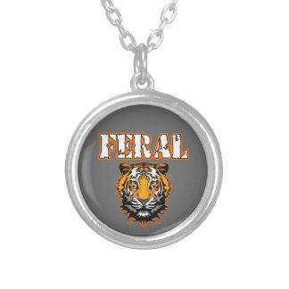 Feral Gear Designs - Feral Tiger Head Orange Pendants