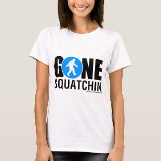 Feral Gear Designs - Gone Squatchin Blue Black T-Shirt