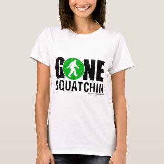 Feral Gear Designs - Gone Squatchin Green Black T-Shirt