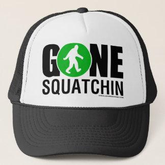 Feral Gear Designs - Gone Squatchin Green Black Trucker Hat