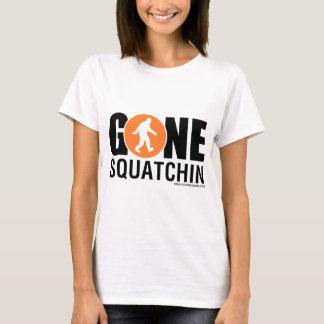 Feral Gear Designs - Gone Squatchin Orange Black T-Shirt