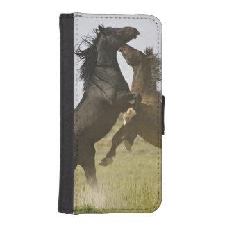 Feral Horse Equus caballus) wild horses Phone Wallets