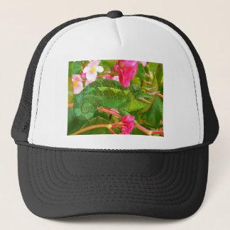 Feral Jackson's Chameleon on Maui Island Hawaii Trucker Hat