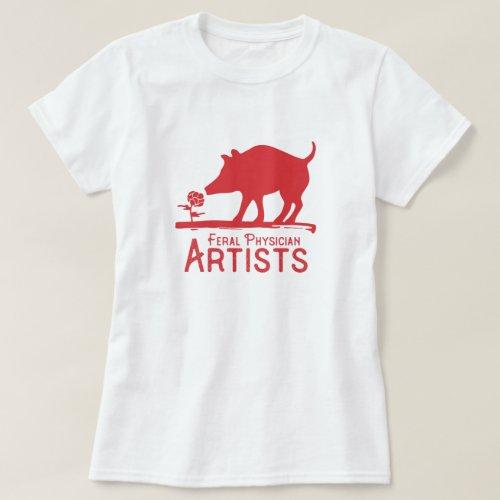Feral Physician Artists T_Shirt