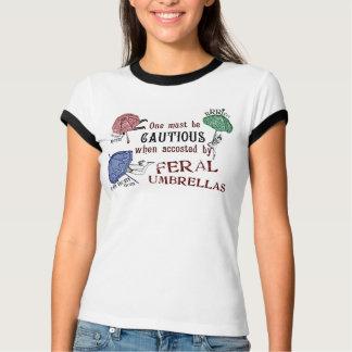 Feral Umbrellas-  Victorian Surrealist T Shirt