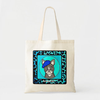 Feralartist Portrait Small Budget Tote for Artists