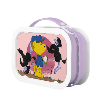 Ferald and The Pesky Crows Lunch Box