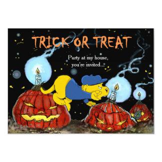 Ferald and The Rotten Pumpkins 4.5x6.25 Paper Invitation Card