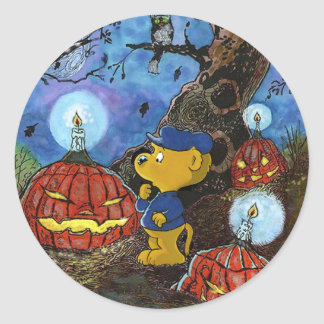 Ferald and The Rotten Pumpkins Classic Round Sticker