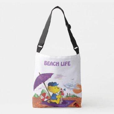 Beach Themed Ferald | Beach Crossbody Bag