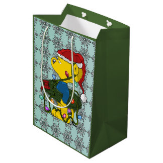 Ferald's Hula Wreath Medium Gift Bag