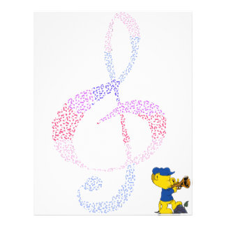 Ferald's Musical Rumpus Custom Letterhead