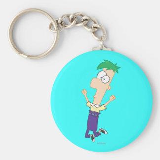 Ferb 1 basic round button keychain