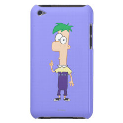Case-Mate iPod Touch Barely There Case with Ferb of Phineas and Ferb design