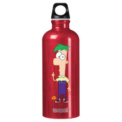 SIGG Traveller Water Bottle (0.6L) with Ferb of Phineas and Ferb design