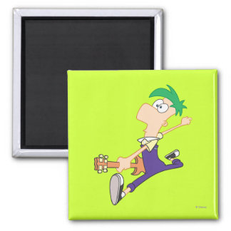 Ferb Rocking Out with Guitar Magnet