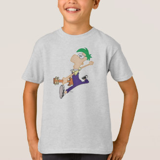 Ferb Rocking Out with Guitar T-Shirt