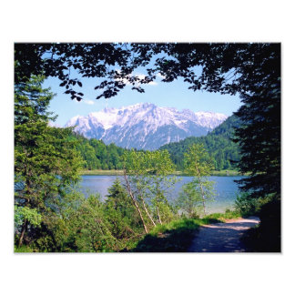Ferchensee Portal Photo Print