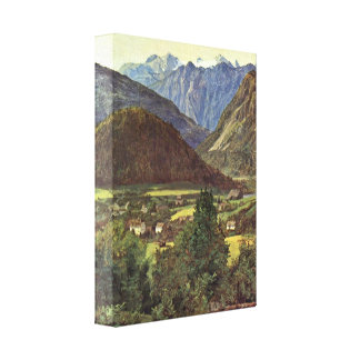 Ferdinand Georg Waldmuller - The place of Sophie Stretched Canvas Print