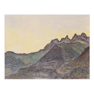 Ferdinand Hodler- Dents du Midi Postcard