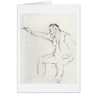 Ferdinand Hodler drawing Greeting Card