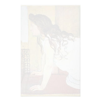 Ferdinand Hodler- Girl at the Window Stationery