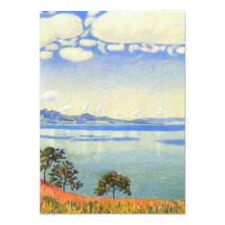 Ferdinand Hodler - Lake Geneva from Chexbres Card