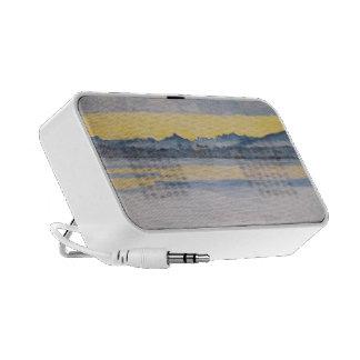 Ferdinand Hodler- Lake Geneva with Mont Blanc Mp3 Speaker