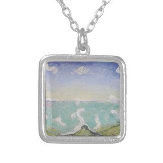 Ferdinand Hodler- Landscape with increasing clouds Pendants